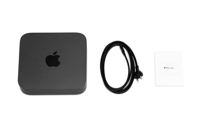 Mac mini同梱物
