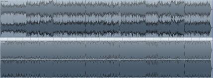 マキシマイズした波形