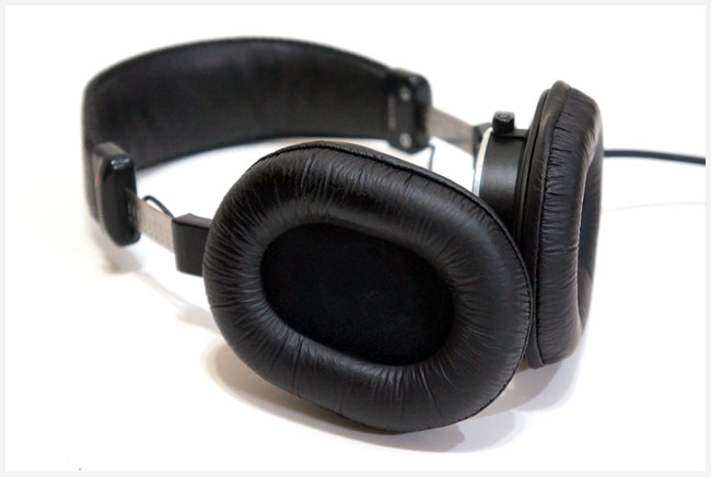 イヤーパッドを交換したMDR-CD900ST